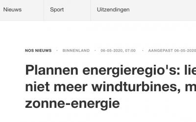 Nederland heeft voorkeur voor zonne-energie
