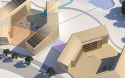 Wereldwijd de eerste zelfvoorzienende  appartementen worden nu gebouwd